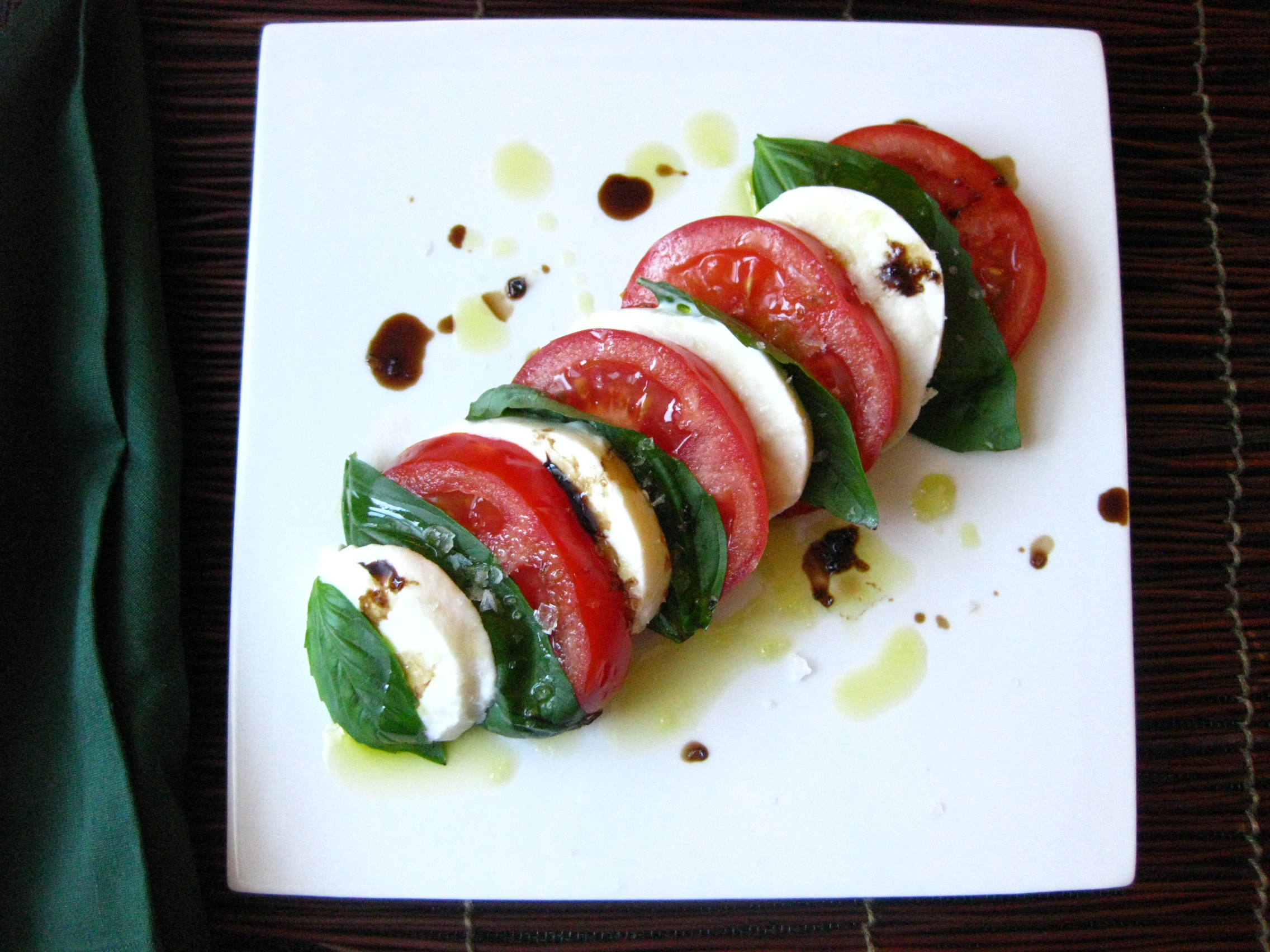 how to say caprese salad