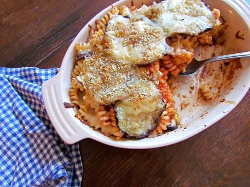 Eggplant Pasta Al Forno - Meatballs&Milkshakes