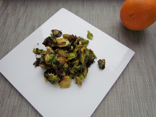 Crispy Orange-Scented Brussels Sprouts - Meatballs&Milkshakes