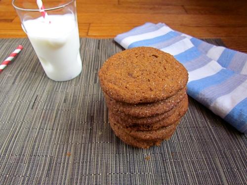 Chewy Ginger Cookies - Meatballs&Milkshakes