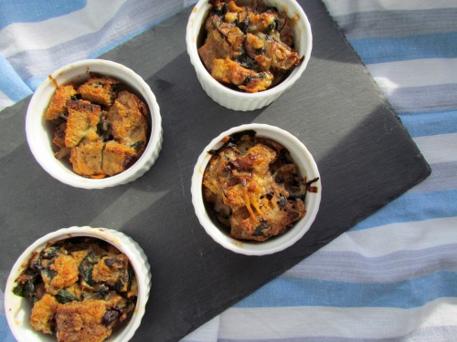 Individual Bread Puddings - Meatballs&Milkshakes