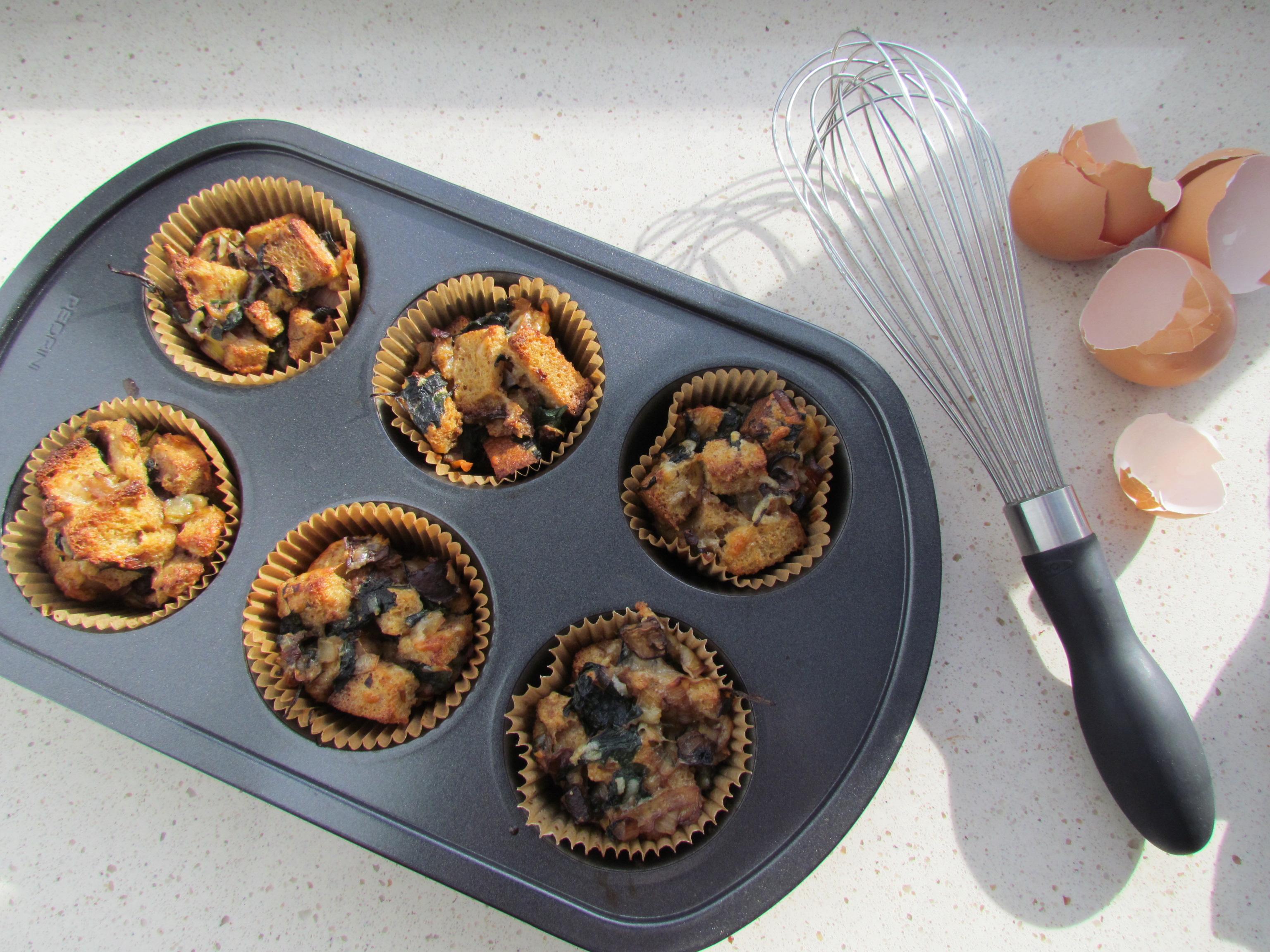 Individual Bread Puddings - Meatballs&Milkshakes