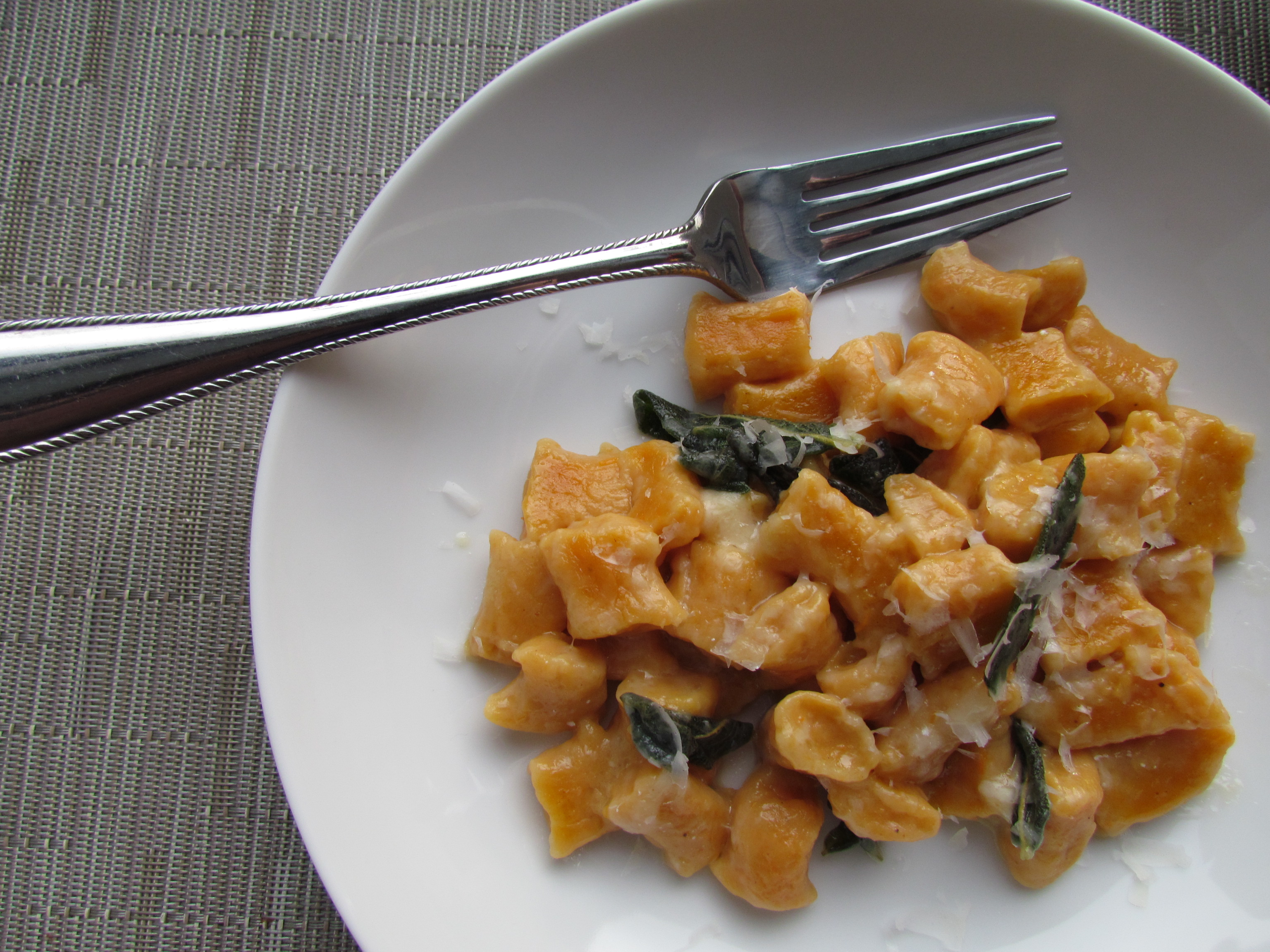Sweet Potato Gnocchi - Meatballs&Milkshakes